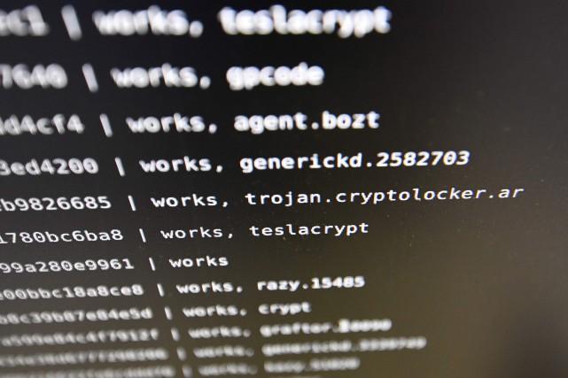 Ce logiciel malveillant baptiséEternalRocksintrigue d'autant plus qu'il infecte... (AFP)