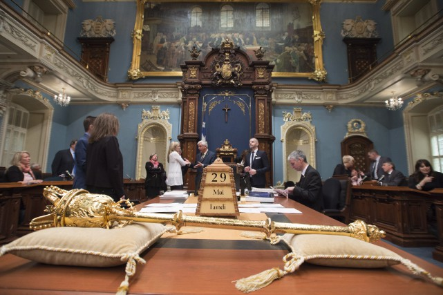 La loi spéciale du gouvernement québécois pour forcer... (Archives, La Presse canadienne)