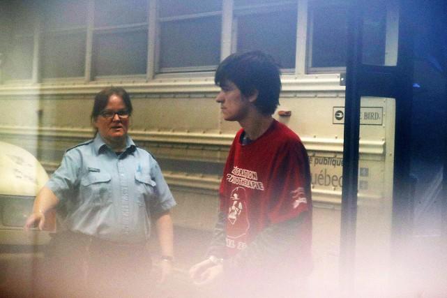 Alexandre Bissonnette, âgé de 27 ans, est accusé... (Photo Mathieu Belanger, archives PC)