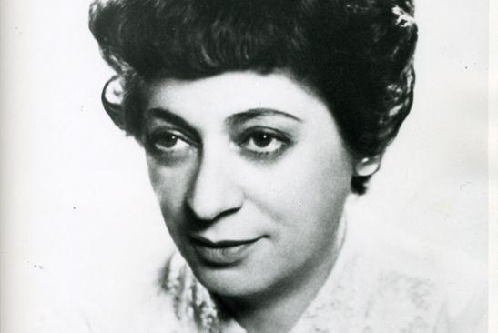 Faisant fi des conventions en musique classique,Ethel Stark... (Photo fournie par les Archives de la Bibliothèque publique juive de Montréal)