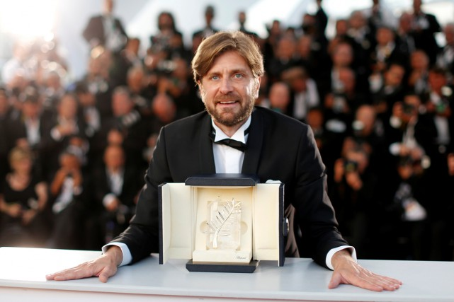 Ruben Ostlund, réalisateur du film The Square.... (PHOTO REUTERS)