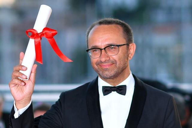 Andreï Zviaguintsev, réalisateur de Faute d'amour, a remporté... (PHOTO AFP)
