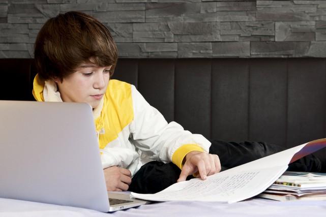 Le cyberprof présente une offre de service beaucoup... (123RF)