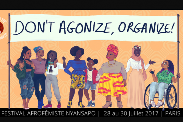Le programme du premier Festival Nyansapo, qui doit... (CAPTURE D'ÉCRAN DU SITE DU COLLECTIF MWASI)