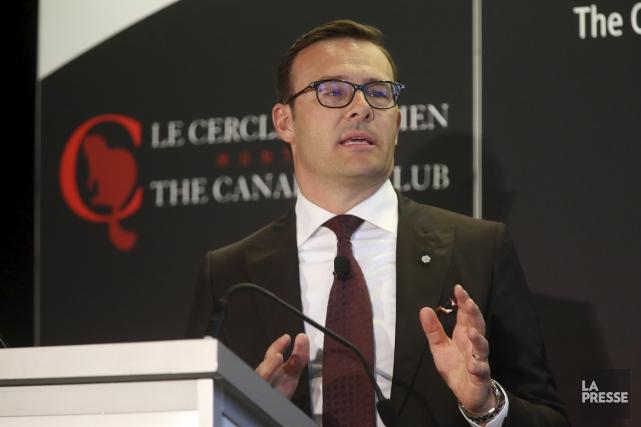 Le président et chef de la direction du... (La Presse, Martin Chamberland)