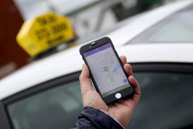 L'application « Taxi 3000 Granby » est disponible... (Julie Catudal)