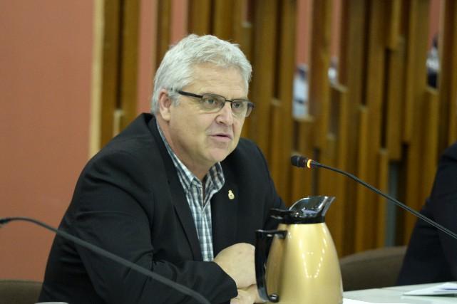 Le conseiller municipal Marc Pettersen... (Archives Le Quotidien, Jeannot Lévesque)