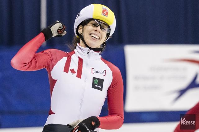 La patineuse native de Saint-Félicien a été élue... (Archives La Presse)