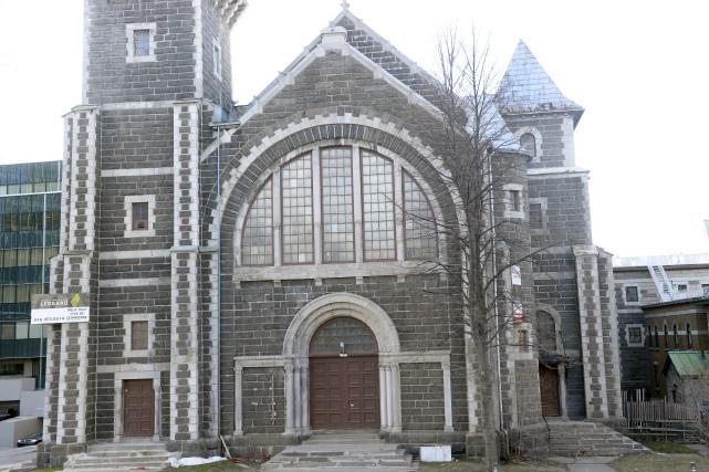 Le promoteur du site de l'ancienne église Saint-Coeur-de-Marie... (Photothèque Le Soleil, Jean-Marie Villeneuve)