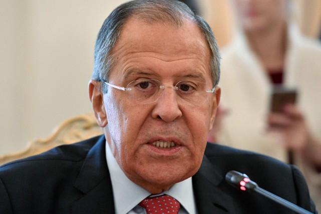 Sergei Lavrov... (Photo Alexander Nemenov, archives Agence France-Presse)