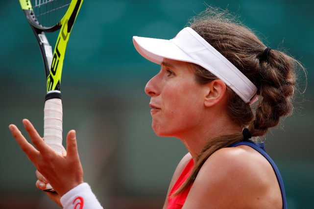 Johanna Konta... (Photo Christian Hartmann, archives Reuters)