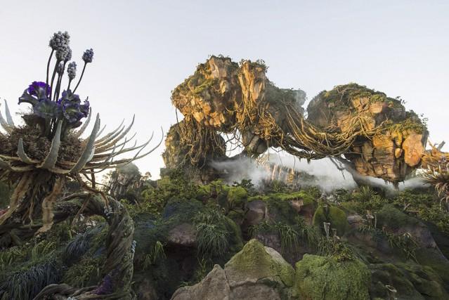 Huit ans après la sortie du film Avatar, Disney ouvrait samedi dernier... (Photo fournie par Disney)