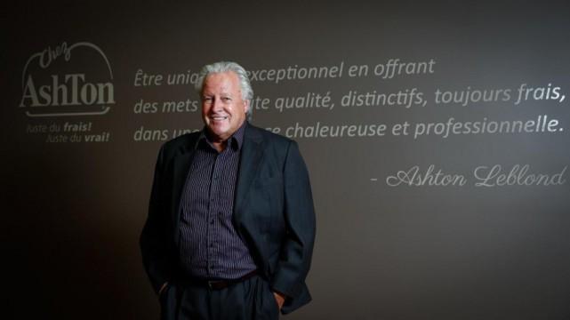Ashton Leblond, fondateur et président des restaurants Chez... (PhotoMathieu Bélanger, Le Soleil)