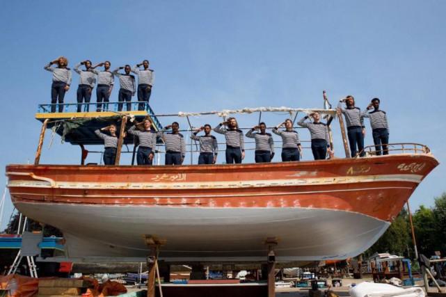 L'étonnante croisière sur le Mr. Friday, menée notamment... (Photo tirée du site de Rederij Lampedusa)