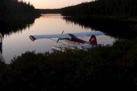 C'est cet avion Piper Cub J3 dans lequel... (Photo tirée de Facebook)