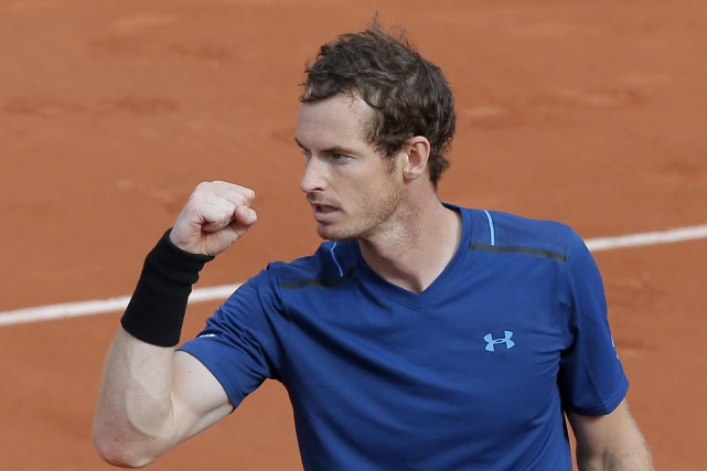 Andy Murray... (Photo Michel Euler, AP)