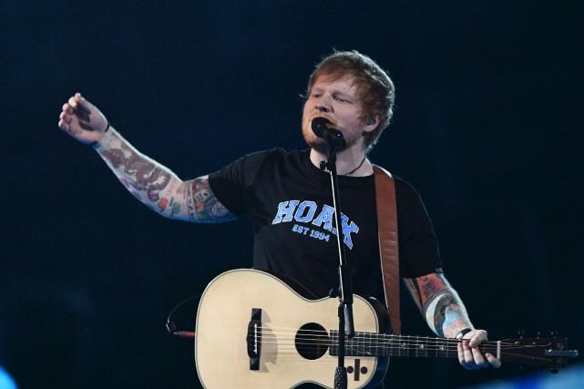 Non, Ed Sheeran ne sera pas de la... (Archives, AFP)