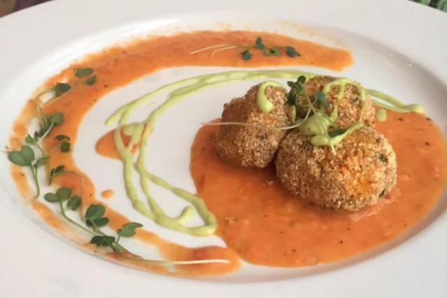 Une création du restaurant L'Archipel, à Cowansville... (Photo tirée du compte Facebook)