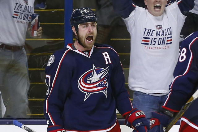 Brandon Dubinsky... (Photo Russell LaBounty, USA Today Sports)