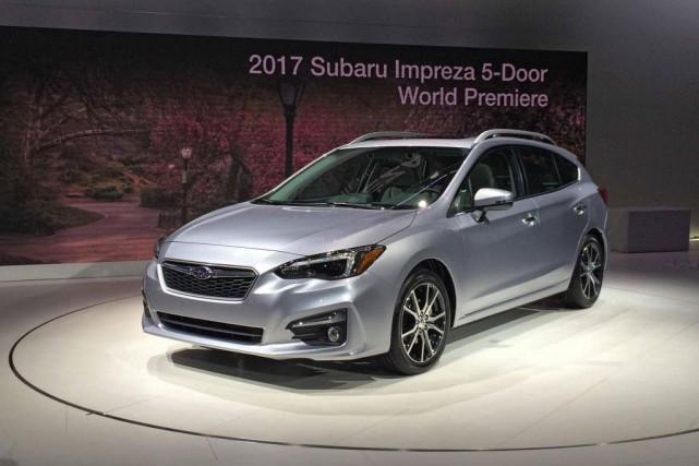 La Subaru Impreza 2017... (PHOTO ÉRIC LEFRANÇOIS, COLLABORATION SPÉCIALE)