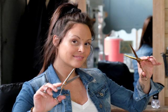 Marie-Pierre Brodeur, coiffeuse, organise un après-midi spécial destiné... (Alain Dion)