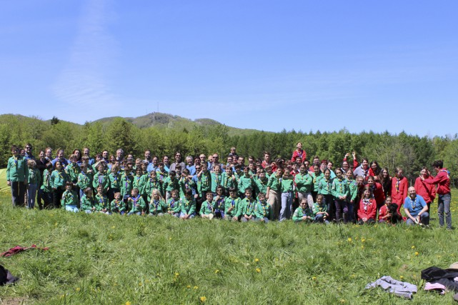 Le 60e anniversaire du 14e Groupe scout Georges-Pépin... (fournie par Nancy Tétreault)