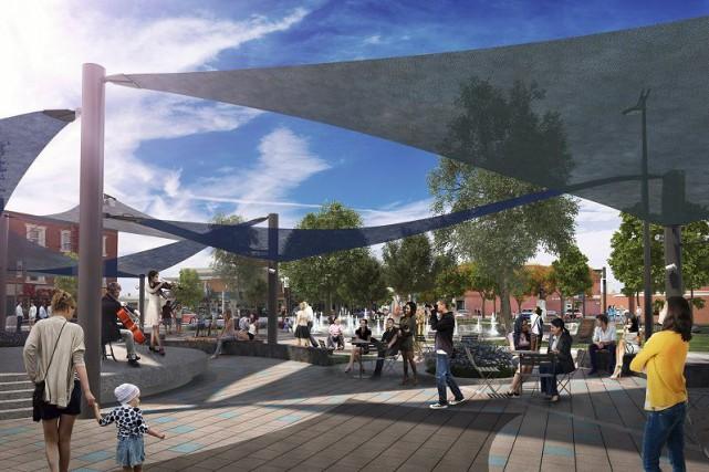 Voilà à quoi ressemblera le parc des Braves... (Image fournie)