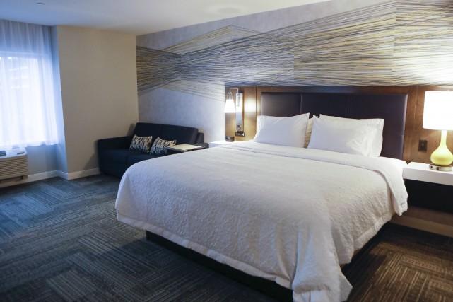 L'hôtel Hampton Inn & Suites by Hilton accueillera ses premiers visiteurs dans... (fournie par Logisco)