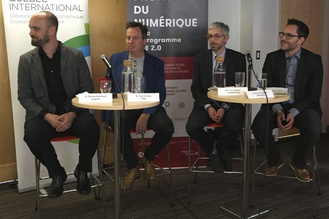Sylvain Bouchard, directeur des TI chez Aliksir; Yves... (Le Soleil, Yves Therrien)