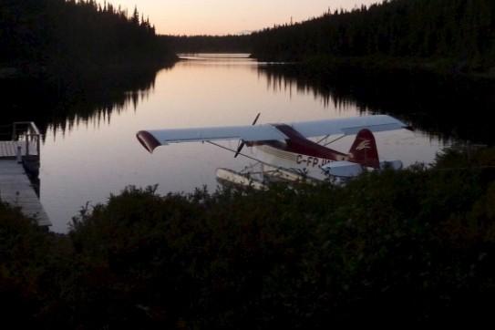 C'est dans cet avion Piper Cub J3 que... (Tirée de Facebook)