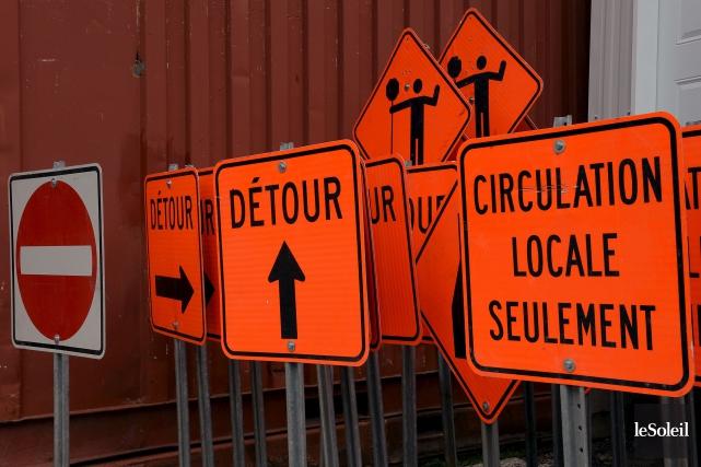 De nouveaux travaux d'infrastructures sont prévus à Shawinigan... (Le Soleil, Erick Labbé)