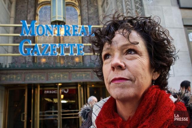 Sue Montgomery a fait carrière en journalisme pendant... (PHOTO ANDRÉ PICHETTE, LA PRESSE)