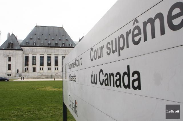 La cour Suprême du Canada... (Etienne Ranger, Archives LeDroit)