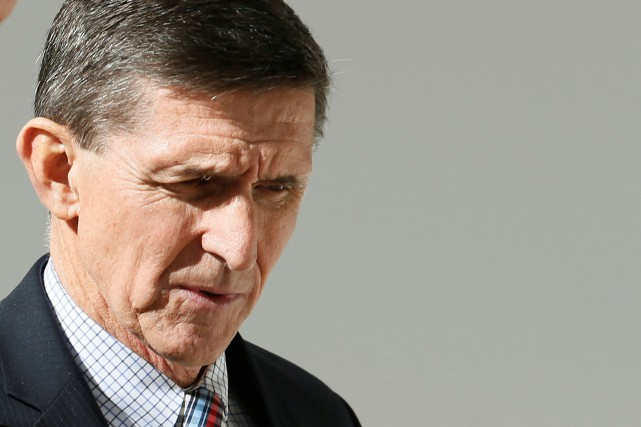 L'ancien conseiller à la sécurité nationale Michael Flynn... (PHOTO REUTERS)