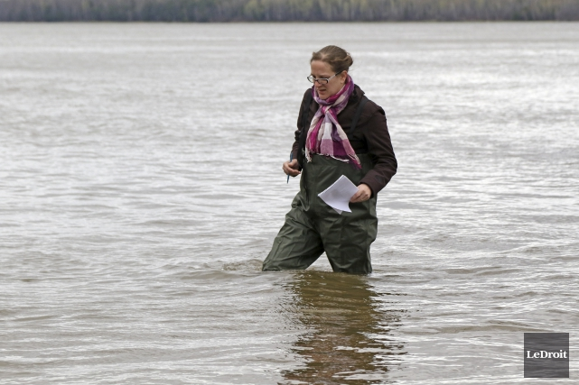 Notre journaliste Justine Mercier fait partie de ceux... (Patrick Woodbury, archives Le Droit)
