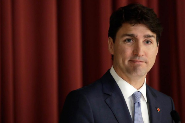Dans les notes biographiques officielles de Justin Trudeau, on... (PHOTO AP)