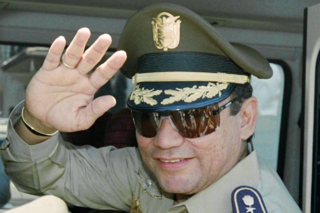 L'ancien dictateur Manuel Noriegapurgeait trois peines de 20... (ARCHIVES AFP)