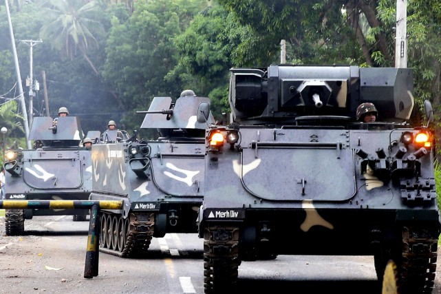Les forces de sécurité philippines ont abattu 89 militants islamistes en plus... (Photo Bullit Marquez, Associated Press)