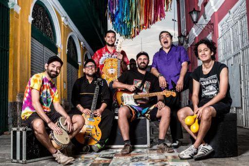 Le groupe Bareto, originaire du Pérou... (Photo fournie par le FIJM)
