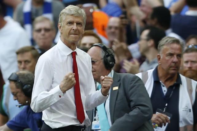 L'entraîneur d'Arsenal, Arsène Wenger.... (Photo Ian Kington, AFP)