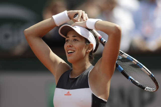 Garbine Muguruza... (Photo Petr David Josek, AP)