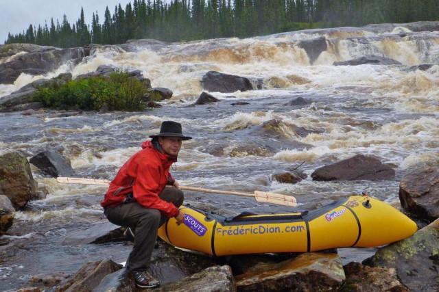 L'aventurier québécois Frédéric Dion a récemment organisé à... (Photo fournie par Frédéric Dion)