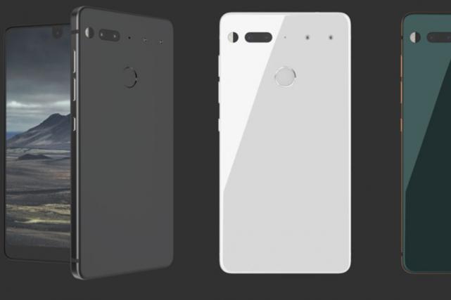 Le téléphone Essential sera commercialisé dans un premier... (Photo tirée du site internet)