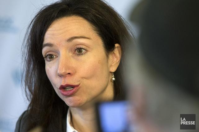 Martine Ouellet, chef du Bloc Quebecois.... (ROBERT SKINNER, ARCHIVES LA PRESSE)