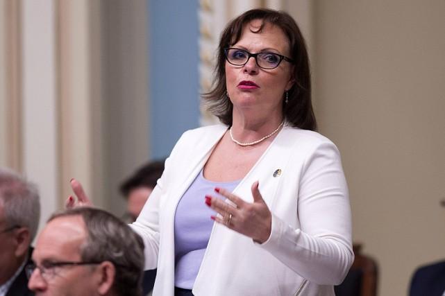 La ministre déléguée à la Protection de la... (Archives, La Presse canadienne)