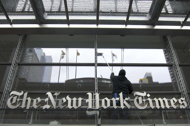 Le New York Times a vu le nombre de... (Photo Gary Hershorn, ARCHIVES REUTERS)