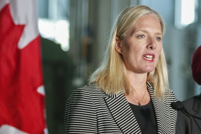 La ministre de l'EnvironnementCatherine McKenna... (Photo Jeff McIntosh, archives la presse canadienne)