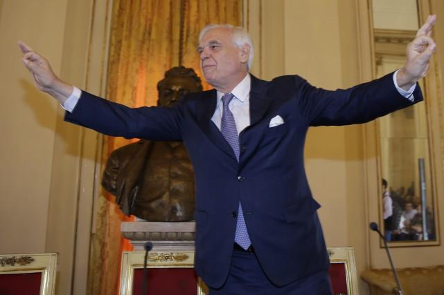 Alexander Pereira, directeur artistique et surintendant de la... (PHOTO AP)