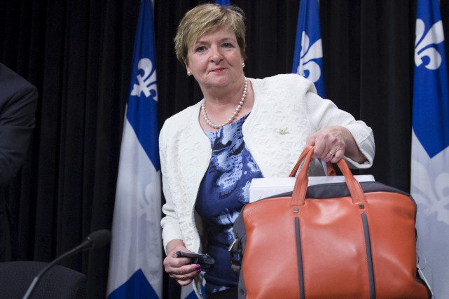 La vérificatrice générale Guylaine Leclerc a présenté son... (La Presse canadienne, Jacques Boissinot)