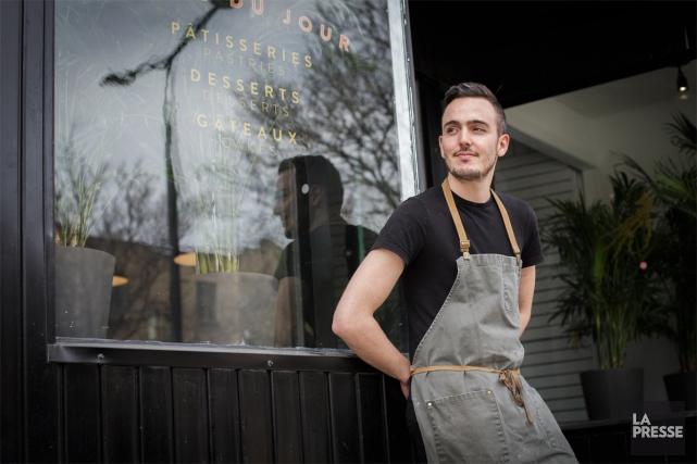 Le chef-pâtissier et copropriétaire du Libertine Bakehouse, Nick... (PHOTO OLIVIER JEAN, LA PRESSE)